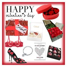 """""""Valentine's Day"""" by dazedmuse on Polyvore featuring Karl Lagerfeld, Prada, Ultimate, La Perla, BERRICLE, Chloé, giftguide, MyStyle, valentinesday and polyvoreeditorial"""
