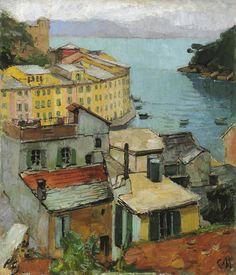 aurosanlo: CARL MOLL (1861-1945)Portofino, 1928/29