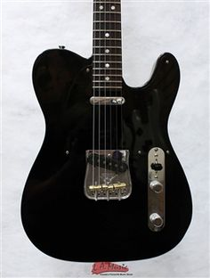 Fender Custom Shop 2013 Closet Classic Telecaster Pro Ebony Transparent Rosewood Fender Telecaster Black, Fender Guitars, Fender Custom Shop, Custom Guitars, Beautiful Guitars, Classic, Music, Closet, Shopping