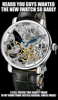 Maxi Skeleton 45 mm Limited Editions Welcome to the Ulysse Nardin collection Mechanical Watch Manufacturer Dream Watches, Cool Watches, Wrist Watches, Le Locle, Skeleton Watches, Expensive Watches, Luxury Watches For Men, Beautiful Watches, Men's Accessories