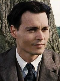 "Johnny Depp in ""Finding Neverland"""