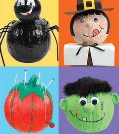 our library is having a pumpkin painting party for the kids cute ideas