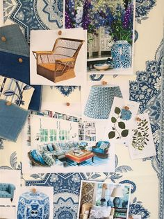 Mark D Sikes for Schumacher, Moodboard
