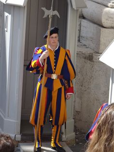 Swiss Guard ~ Vatican City #monogramsvacation