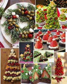 PANELATERAPIA - Blog de Culinária, Gastronomia e Receitas: Comidinhas Natalinas