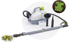 DynaSteam Steam Cleaning Machine is as a Natural Weed Killer/Organic Lawn Care Product. Perfect for Organic Gardening!