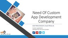 In this digital era, there are many ready made apps are available on app store, then what is the need of customized application development