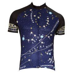 Constellation Men's Short Sleeve Cycling Jersey