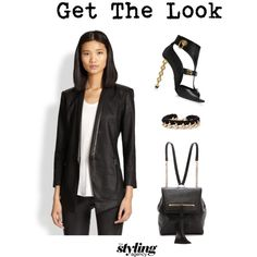Suit and chains #suit #chains #WhatToWear #rucksack #backpack #smartclothes #smart #stylist #peeptoeshoes #anklebots #lotd #lookoftheday #outfit #ootd #workwear
