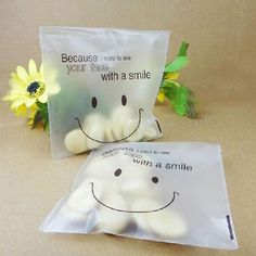 SmileFace Self Adhesive Plastic Packing Bags DIY Candy Cookie Biscuits Snack Bag for Home Wedding Party Gift Bag Sweet Cookies, Candy Cookies, Birthday Candy, Birthday Diy, Baking Packaging, Candy Packaging, Cookie Bakery, Diy Food Gifts, Wrapping