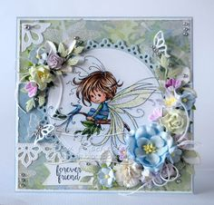 Pixie [SZWS179] - $8.50 : Whimsy Stamps