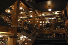 My favorite bookstore - The Tattered Cover, Denver