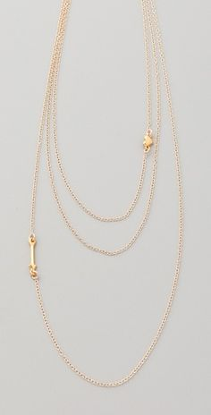 Gorjana Eros Layer Necklace -- LOVE this