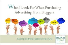 Advertising on Blogs: A Small Business Perspective #beechrt @Barb Peterson Peterson