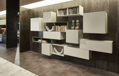 80 Inch Tvs, Contemporary Tv Units, Huge Tv, San Giacomo, Service Design, Your Design, Bookcase, The Unit, Shelves