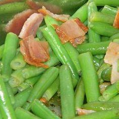 Airport Bob's Green Beans Allrecipes.com
