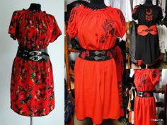 goralskie sukienki | stroje góralskie: wiosna