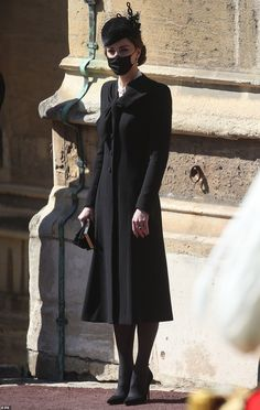 Looks Kate Middleton, Kate Middleton Hair, Windsor, Prince William And Catherine, Prince William And Kate, Prinz Phillip, Funeral, Catherine Walker, Royal Engagement