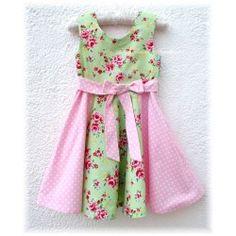 Sini´s Satsuma Sweethearts - quality handmade children´s clothing - Dolly Dress 3-8y