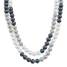 """AAA 8-9 mm Naturel Blanc Baroque cultured pearls Necklace 36/"""""""