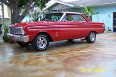 Classic Car News Pics And Videos From Around The World 1964 Ford Falcon, Sprint Cars, Race Cars, Mercury Cars, Ford Classic Cars, Ford Fairlane, Sweet Cars, Car Ford, Ford Motor Company
