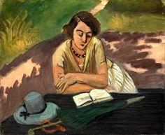 Henri Matisse, Reading Woman with Parasol 1921