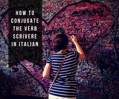 Learn how to conjugate and use the Italian verb scrivere, which means to write, through conjugation tables and examples