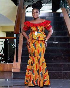 New Ankara Styles In 2019 | Ankara Tops, Gowns, Mix-Match, Crop-Tops, Wedding and many more African fashion styles exclusively only on ankarahub