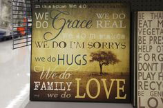 """""""We Do"""" Wall Decor (available only in stores) Click image to see weekly ad"""