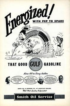 Smith Oil Gulf Ad