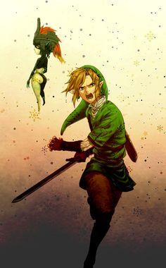 Link & Midna.