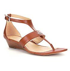 5e0de1c286f5 Coach Womens Vienna Wedge Sandals 8 saddle     For more information