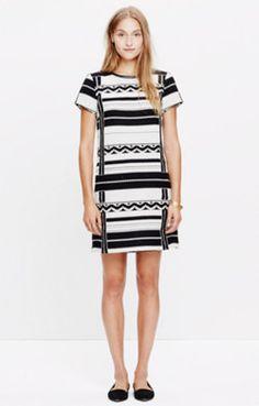 Geo Jacquard Dress by Madewell