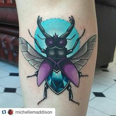 #Repost @michellemaddison with @repostapp Shin beetle today thanks Hope…