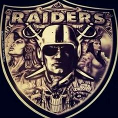Oakland Raiders Wallpapers, Oakland Raiders Images, Oakland Raiders Football, Okland Raiders, Raiders Stuff, Raiders Girl, Prison Drawings, Raiders Tattoos, Raiders Cheerleaders