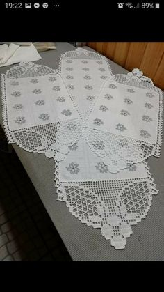 Crochet Boarders, Crochet Lace Edging, Diy And Crafts, Quilts, Pattern, How To Make, Handmade, Crochet Hammock, Crochet Stitches Chart