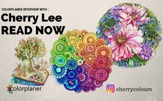 Hello #adultcolouringbook  fans today we have a special interview for you by @cherrycolours . A lovely colorist from Malaysia enjoy and happy coloring. Read more at colorplaner.com or go directly to story by clicking on link from bio
