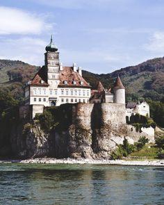 Schoenbuehel Castle in Wachau, Lower Austria