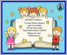 Mensagem de Boas Vindas na Educação Infantil