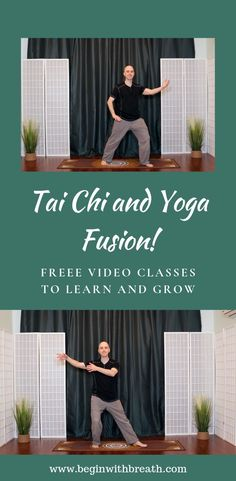 Yoga, meditation, qigong, and tai chi online videos and live classes. Begin with Breath. Yoga Meditation, Namaste, Tai Chi Video, Tai Chi For Beginners, Stress Relief, Pain Relief, Take Care Of Your Body, Peace And Harmony, Free Yoga