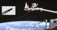 So-Called 'Fast Walker' UFO Speeds by the Space Station