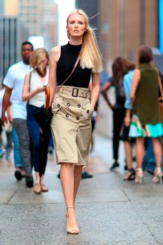 ​The unmistakable touch of New Yorkers in their fashion week: ELLE España waysify