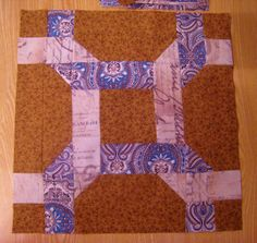 Knotted Rings Or Celtic Twist Quilt