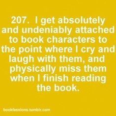 My fictional friends.