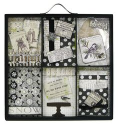 "Authentique Paper: A ""Peaceful"" Collection PLUS Tray from 7 Gypsies, Sizzix die & Mica from USArtQuest!"