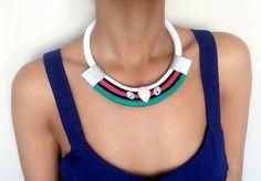 Collier pour femme  collier de strass  par VChristinaCollection