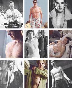 Warning....eyeball overload....Warning, warning.............Benedict chest appreciation.