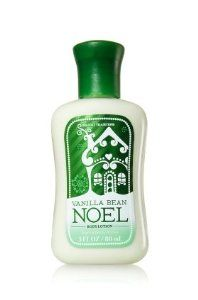 FAV SCENT EVER. Bath and Body Works Vanilla Bean Noel Body Lotion... second is the regular vanilla sugar. This one's seasonal around Christmas only. Stocking up next year like its the apocalypse.
