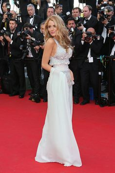 Blake Lively in Chanel at the 'Mr Turner' Premiere at the 67th Annual Cannes Film Festival on May 15, 2014