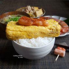 おかずをごはんにドーンとのっけるだけ。手軽なごちそう「#のっけごはん 」って最高!|おうちごはん Japanese Bowls, Japanese Food, Time To Eat, Have Time, Good Food, Yummy Food, College Meals, Rice Dishes, Junk Food